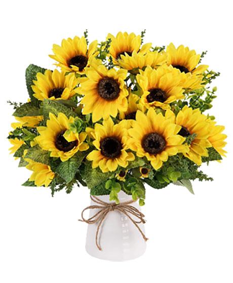 دسته گل آفتاب گردان