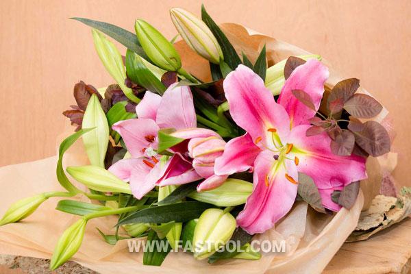 خرید گل برای افتتاحیه مغازه